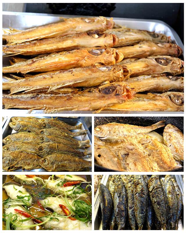 瑞芳自助餐店吃現煎馬頭魚、大目紅鰱、四破魚