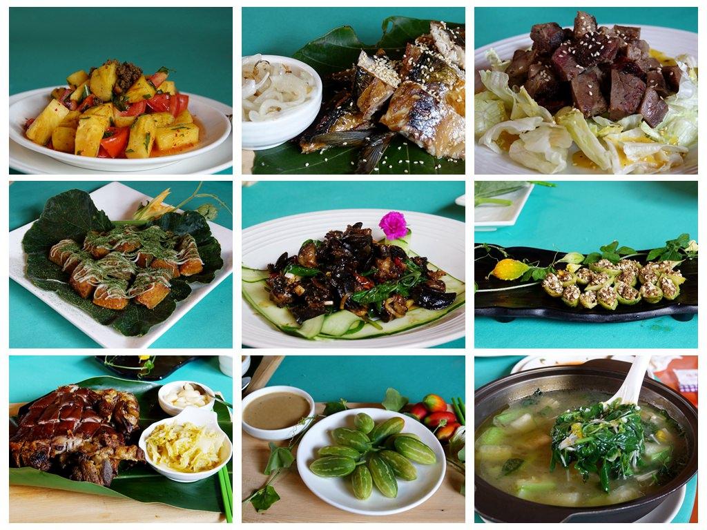 【台東。美食】沙巴漾的家以16種養生草為調味,無菜單料理顛覆傳統原住民餐的思維。