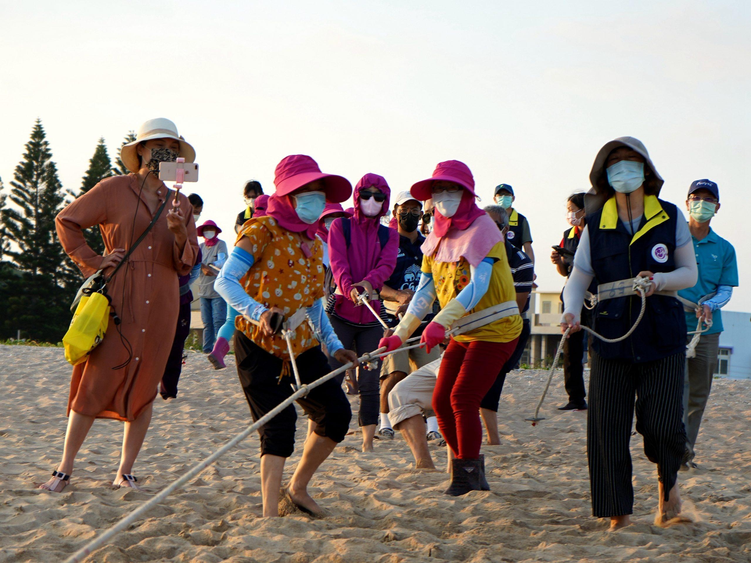 【澎湖。旅遊】澎湖秋冬微旅行從傳統技藝牽罟漁法再現起跑