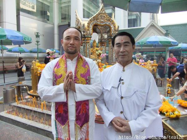 四面佛新春開光法會 泰國皇家御用法師團親臨祈福儀式